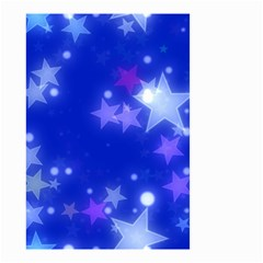 Star Bokeh Background Scrapbook Small Garden Flag (two Sides)