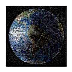 World Mosaic Tile Coasters