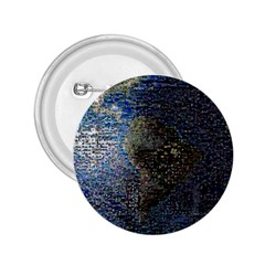 World Mosaic 2 25  Buttons by Nexatart