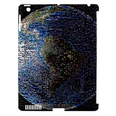 World Mosaic Apple Ipad 3/4 Hardshell Case (compatible With Smart Cover)