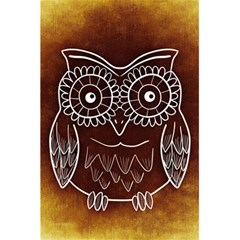 Owl Abstract Funny Pattern 5 5  X 8 5  Notebooks