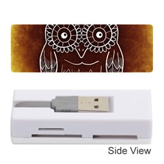 Owl Abstract Funny Pattern Memory Card Reader (stick)