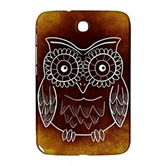 Owl Abstract Funny Pattern Samsung Galaxy Note 8 0 N5100 Hardshell Case  by Nexatart