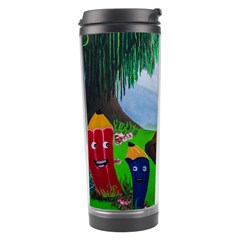 Kindergarten Painting Wall Colorful Travel Tumbler by Nexatart