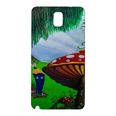 Kindergarten Painting Wall Colorful Samsung Galaxy Note 3 N9005 Hardshell Back Case by Nexatart