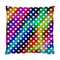 Pattern Template Shiny Standard Cushion Case (one Side) by Nexatart