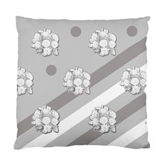 Stripes Pattern Background Design Standard Cushion Case (one Side)