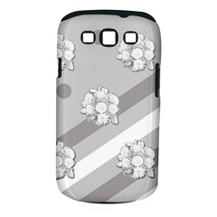 Stripes Pattern Background Design Samsung Galaxy S Iii Classic Hardshell Case (pc+silicone) by Nexatart