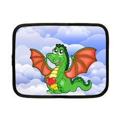 Dragon Heart Kids Love Cute Netbook Case (small)  by Nexatart