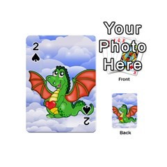 Dragon Heart Kids Love Cute Playing Cards 54 (mini)  by Nexatart