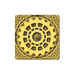 Gears Square Magnet