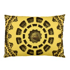 Gears Pillow Case (two Sides) by Nexatart