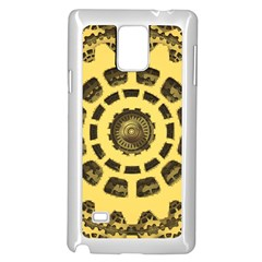 Gears Samsung Galaxy Note 4 Case (white) by Nexatart
