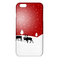 Reindeer In Snow Iphone 6 Plus/6s Plus Tpu Case