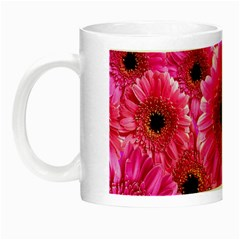 Gerbera Flower Nature Pink Blosso Night Luminous Mugs by Nexatart