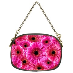 Gerbera Flower Nature Pink Blosso Chain Purses (two Sides)  by Nexatart