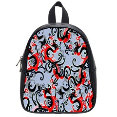 Dragon Pattern School Bags (small)  by Nexatart