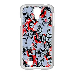 Dragon Pattern Samsung Galaxy S4 I9500/ I9505 Case (white)