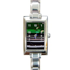 Abstraction Rectangle Italian Charm Watch by Valentinaart