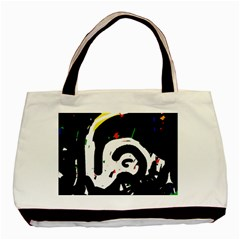 Abstraction Basic Tote Bag (two Sides) by Valentinaart