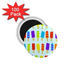 Food Pattern 1 75  Magnets (100 Pack)  by Nexatart