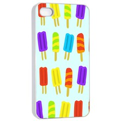 Food Pattern Apple Iphone 4/4s Seamless Case (white) by Nexatart
