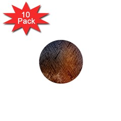 Typography 1  Mini Buttons (10 Pack)  by Nexatart
