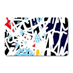 Abstraction Magnet (rectangular) by Valentinaart