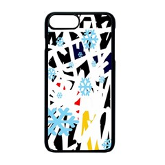 Abstraction Apple Iphone 7 Plus Seamless Case (black) by Valentinaart