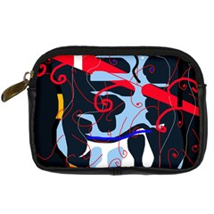 Abstraction Digital Camera Cases by Valentinaart