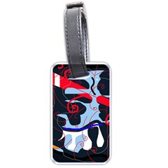 Abstraction Luggage Tags (one Side)  by Valentinaart