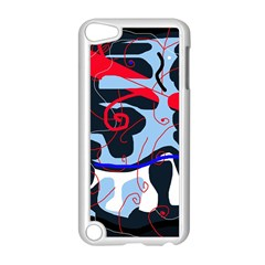 Abstraction Apple Ipod Touch 5 Case (white) by Valentinaart