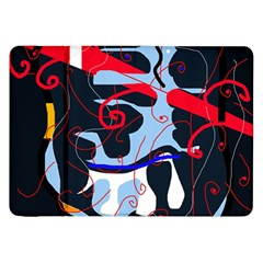 Abstraction Samsung Galaxy Tab 8 9  P7300 Flip Case by Valentinaart