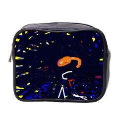 Abstraction Mini Toiletries Bag 2 Side by Valentinaart