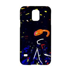 Abstraction Samsung Galaxy S5 Hardshell Case  by Valentinaart