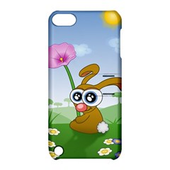 Easter Spring Flowers Happy Apple Ipod Touch 5 Hardshell Case With Stand by Nexatart