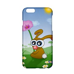 Easter Spring Flowers Happy Apple Iphone 6/6s Hardshell Case by Nexatart