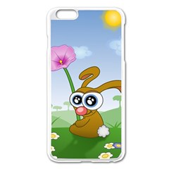 Easter Spring Flowers Happy Apple Iphone 6 Plus/6s Plus Enamel White Case