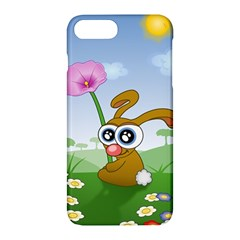 Easter Spring Flowers Happy Apple Iphone 7 Plus Hardshell Case by Nexatart