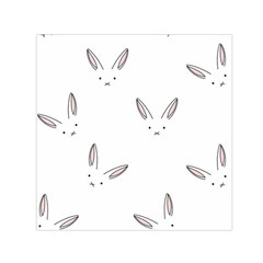 Cute Bunnies Small Satin Scarf (square) by Brittlevirginclothing