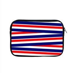 Red White Blue Patriotic Ribbons Apple Macbook Pro 15  Zipper Case