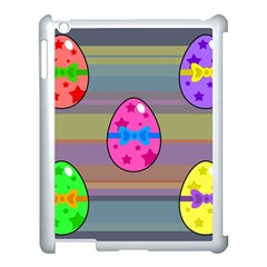Holidays Occasions Easter Eggs Apple Ipad 3/4 Case (white) by Nexatart