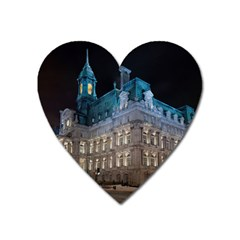 Montreal Quebec Canada Building Heart Magnet by Nexatart