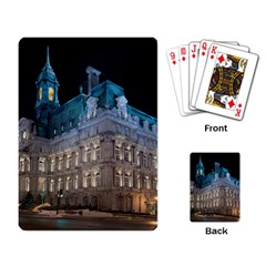 Montreal Quebec Canada Building Playing Card by Nexatart