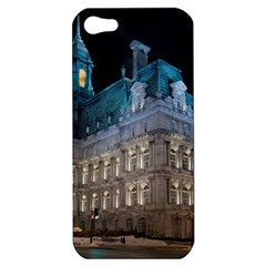 Montreal Quebec Canada Building Apple Iphone 5 Hardshell Case by Nexatart