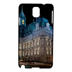 Montreal Quebec Canada Building Samsung Galaxy Note 3 N9005 Hardshell Case by Nexatart