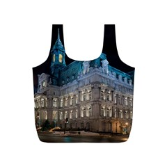 Montreal Quebec Canada Building Full Print Recycle Bags (s)  by Nexatart