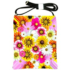Flowers Blossom Bloom Nature Plant Shoulder Sling Bags by Nexatart