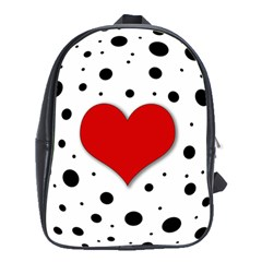 Red Heart School Bags (xl)