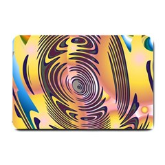 Ethnic Tribal Pattern Small Doormat  by Nexatart